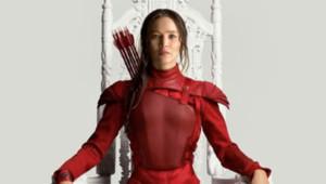Jennifer Lawrence sur une affiche Hunger Games : Mockingjay 2