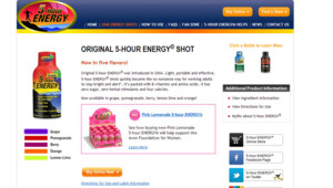 La boisson 5-hour energy