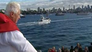 Le pape à Sydney