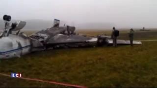 Mort de Margerie : les images de jour de la carcasse du jet privé