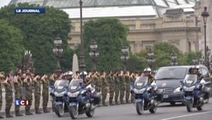 Une cérémonie en hommage au soldat français tué au Mali