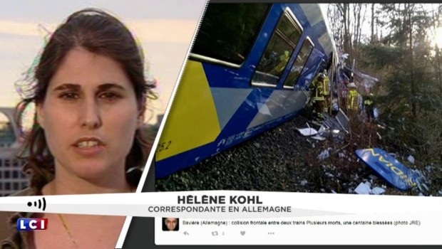 Accident de train en Allemagne : au moins deux morts et 150 blessés