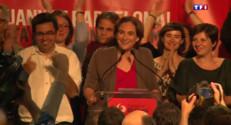 """Le 20 heures du 25 mai 2015 : Élections en Espagne : les """"Indignés"""" grands vainqueurs, fin du bipartisme dans le pays - 1199"""