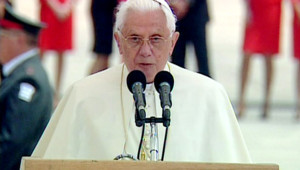 Le pape Benoît XVI à Jérusalem (11 mai 2009)