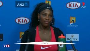"""Matches de tennis truqués : """"Si tout cela existe, je n'en sais rien"""", affirme Serena Williams"""