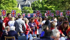 Pique-nique lors du jubilé d'Elizabeth II en juin 2012