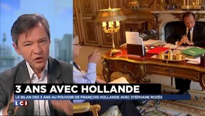"""Trois ans de Hollande : """"Une difficulté à trancher, à dire les priorités"""" pour le président"""