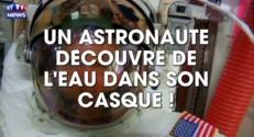 De l'eau dans le casque d'un astronaute de l'ISS... au beau milieu de l'espace : les images