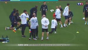 Euro 2016 : les bleus se préparent à leur premier match contre l'Écosse
