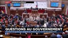 Intempéries dans les Alpes-Maritimes : une minute de silence respectée à l'Assemblée