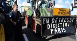Les premiers tracteurs sont partis de Bretagne pour rejoindre Paris, où ils sont attendus jeudi