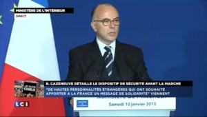Manifestation à Paris : Cazeneuve annonce deux parcours parallèles