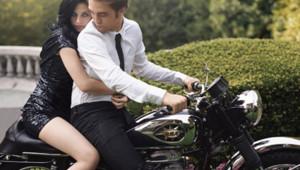 Robert Pattinson Kristen Stewart Harper's Bazaar
