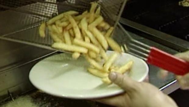 TF1/LCI : Frites dans un fast-food