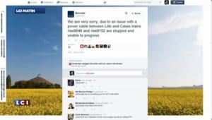 Eurostar : les passagers ironisent sur les réseaux sociaux