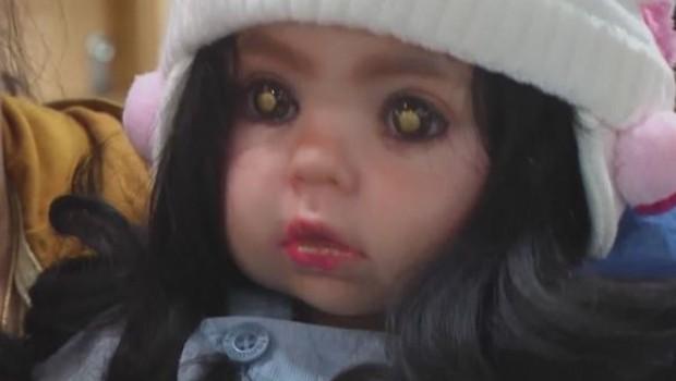 poupée enfant ange thaïlande Luuk Thep
