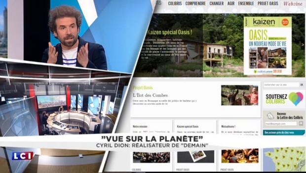 """De son association """"Colibris"""" au film """"Demain"""", l'engagement de Cyril Dion pour la planète"""