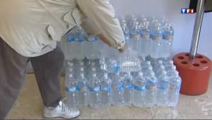 Des bouteilles d'eau en plastique (archives).