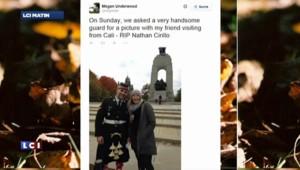 Fusillade à Ottawa : sur internet, on découvre les derniers jours du soldat tué