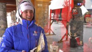 Le 13 heures du 6 mars 2014 : Marie Bochet, portrait d%u2019une championne de ski handisport - 1691.7008385620115