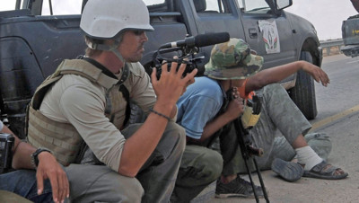 Le journaliste James Foley en septembre 2011 en Libye.