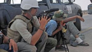 Le journaliste James Foley en septembre 2011 en Libye.