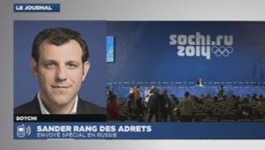 Sander Sotchi Jeux olympiques