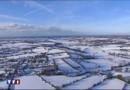 La neige dans la Manche le 3 décembre 2010