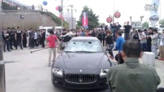 Insolite : un chinois mcontent du SAV dtruit sa Maserati Quattroporte