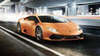 Lamborghini Huracán LP 610-4, coupé sportif lancé au printemps 2014 avec moteur 5,2 litres V10 610 chevaux et poids de 1.422 kg.