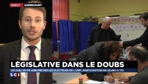 Législatives dans le Doubs : participation de 43,49% à 17h