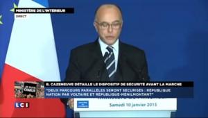 Manifestation à Paris : un dispositif de sécurité exceptionnel