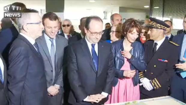 VIDEO. Quand Hollande perd Macron... qui est derrière lui