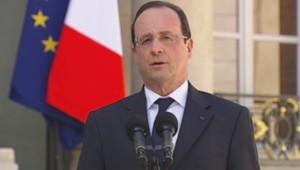 François Hollande à l'Elysée
