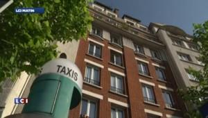 Les taxis en grève contre la concurrence de VTC