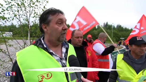 Loi Travail : Arras, Caen, Fos-sur-Mer... tour d'horizon de la mobilisation des routiers à la mi-journée