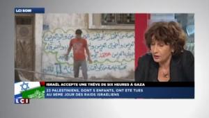 """Michèle Sibony : """"Nous sommes face à une situation de colonisation"""" à Gaza"""