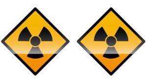 Nucléaire logo centrale uranium