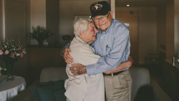retrouvailles amants séparés seconde guerre mondiale