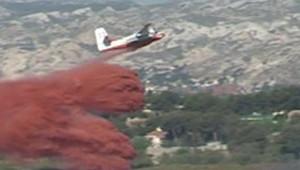 TF1/LCI Feu Marseille pompiers incendies