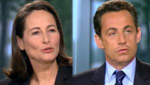 TF1/LCI : Ségolène Royal et Nicolas Sarkozy peu avant le second tour de la présidentielle (6 mai 2007)