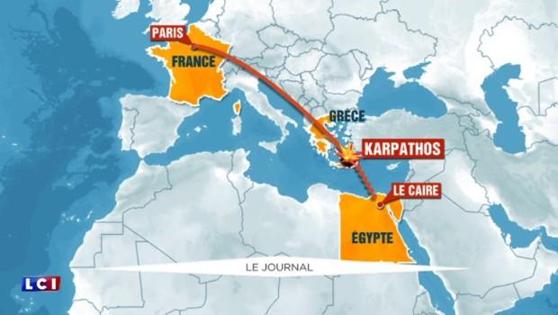 Vol EgyptAir : les experts écartent la piste de l'accident