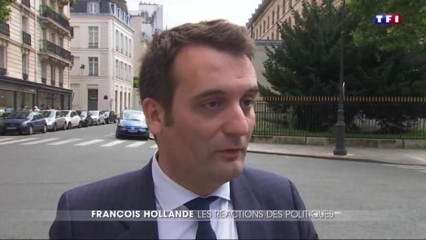 14 juillet : les réactions des politiques après l'interview de François Hollande