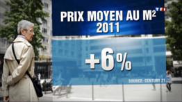 2012, année de la baisse de l'immobilier ?