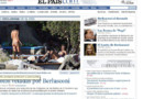 el pais capture ecran photos villas berlusconi
