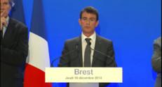 """Le 13 heures du 18 décembre 2014 : Manuel Valls : """"Quand un projet est utile, il faut savoir le mener tranquillement"""" - 625.3"""
