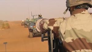 Le 13 heures du 3 janvier 2015 : Sahel : la Libye, nouveau sanctuaire des groupes terroristes du Sahel combattus par la France - 471.467