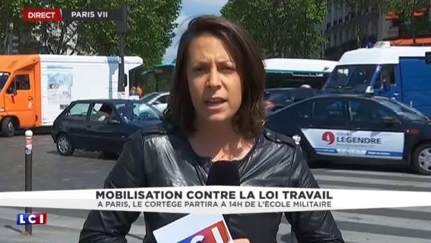 """Manifestations contre la loi Travail : à Paris, une """"journée test pour les 7 syndicats"""""""