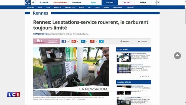 Pénurie d'essence : l'initiative illégale d'un supermarché breton pour économiser ses stocks