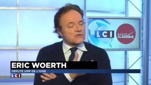 """Popularité de Hollande : """"40%, ce n'est pas la majorité"""" constate Eric Woerth"""
